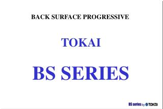 BACK SURFACE PROGRESSIVE