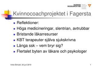 Kvinnocoachprojektet i Fagersta