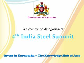 Invest in Karnataka � The Knowledge Hub of Asia