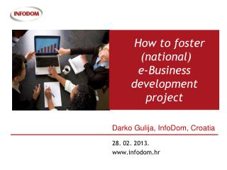 How to  foster ( national ) e- Business development  project