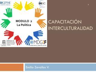 Capacitación interculturalidad
