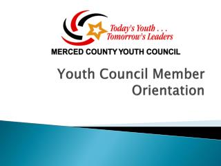 Youth Council Member Orientation