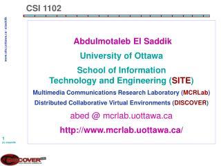 CSI 1102