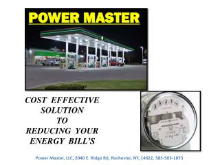 COST  EFFECTIVE SOLUTION   TO REDUCING  YOUR ENERGY  BILL�S