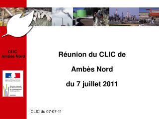 CLIC  Ambès Nord