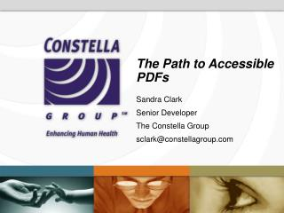 The Path to Accessible PDFs