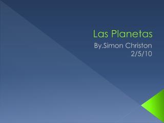 Las  Planetas