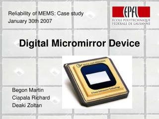 Digital Micromirror Device