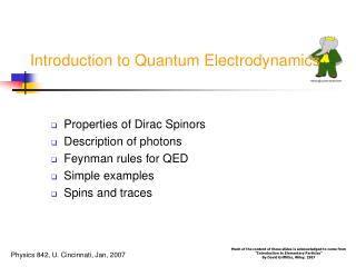 Introduction to Quantum Electrodynamics