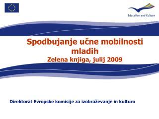 Direktorat Evropske komisije za izobraževanje in kulturo