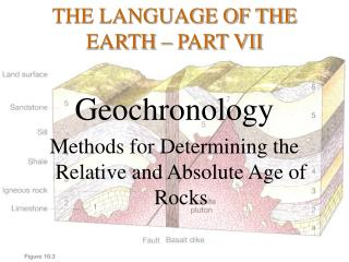 THE LANGUAGE OF THE EARTH – PART VII