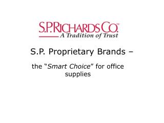 S.P. Proprietary Brands