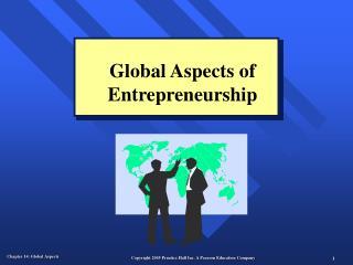 Global Aspects of Entrepreneurship