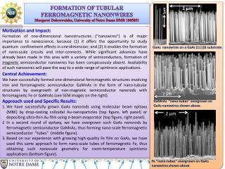 FORMATION OF TUBULAR  FERROMAGNETIC NANONWIRES