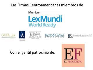Las Firmas Centroamericanas miembros de