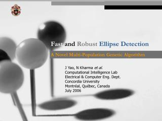Fast and Robust Ellipse Detection