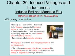 Chapter 20: Induced Voltages and Inductances