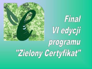 Finał VI edycji programu