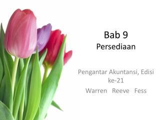 Bab 9 Persediaan