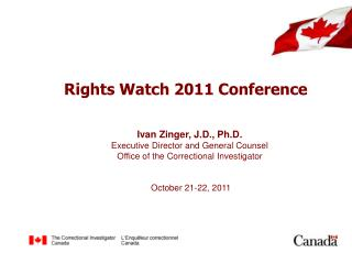 Rights Watch  2011 Conference