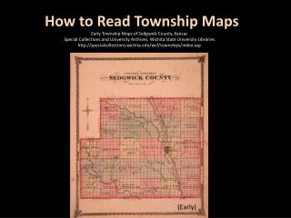 How to Read Township Maps