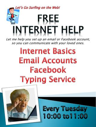 Let�s Go Surfing on the Web!