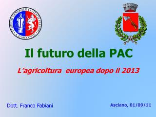 Il futuro della PAC