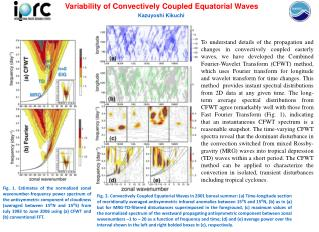 Variability of Convectively Coupled Equatorial Waves