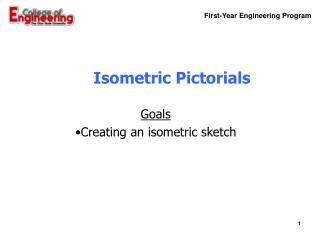 Isometric Pictorials