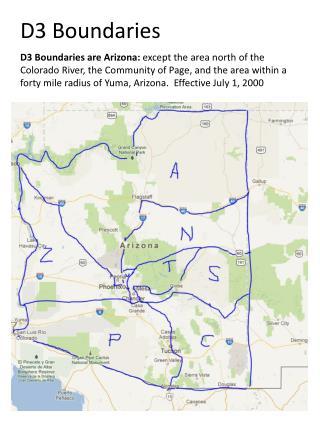 Phoenix Division Boundaries
