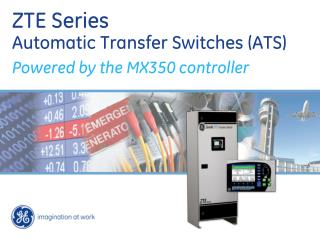 ZTE Series Automatic Transfer Switches (ATS)