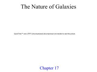The Nature of Galaxies