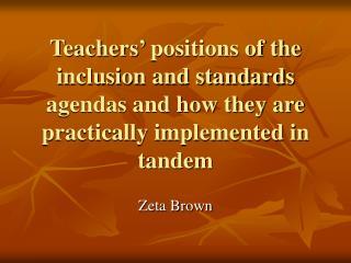 Zeta Brown