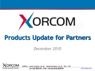 Products Update for Partners