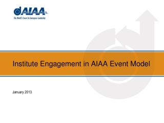 Institute Engagement in AIAA Event Model