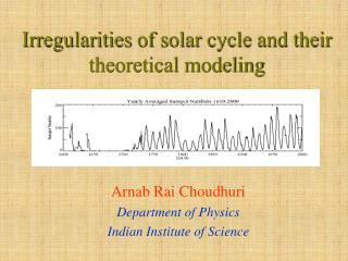 Irregularities of solar cycle and their theoretical modeling