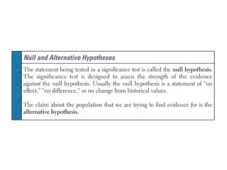 """Are these value """"significant"""" enough to prove or disprove a claim?"""