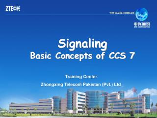 Training Center  Zhongxing Telecom Pakistan (Pvt.) Ltd