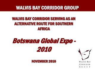 WALVIS BAY CORRIDOR GROUP