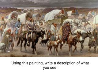 Using this painting, write a description of what you see.