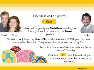 Meet Jake and his parents.
