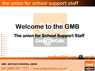 Welcome to the GMB