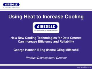 Using Heat to Increase Cooling
