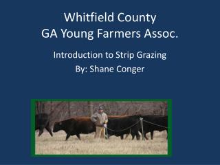 Whitfield County GA Young Farmers Assoc.
