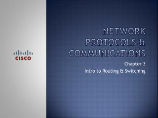 Network protocols & communications