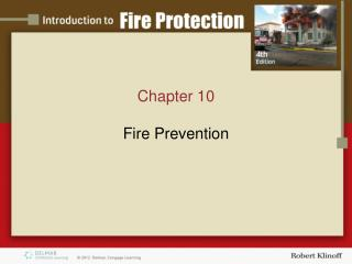 Chapter 10 Fire Prevention