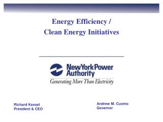 Energy Efficiency / Clean Energy Initiatives