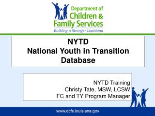 NYTD National Youth in Transition Database