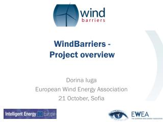WindBarriers - Project overview