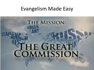 Evangelism Made Easy